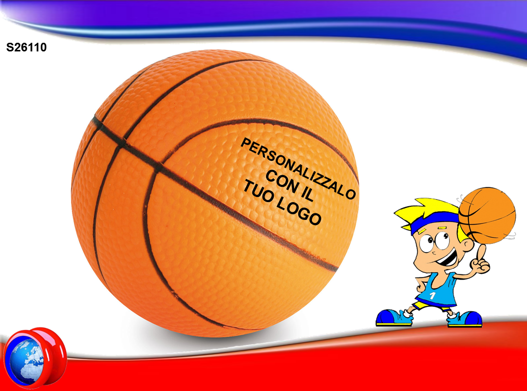Pallone da Basket Antistress